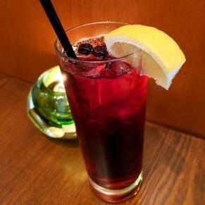 Non-Alcoholic Homemade Blueberry Iced Tea