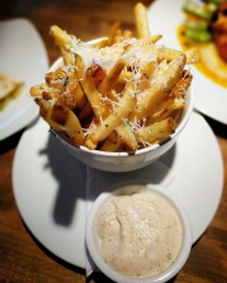 Truffle Fries with Garlic Aioli