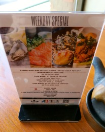 Weekday Specials & Happy Hour