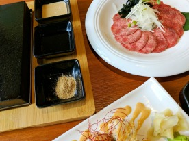 Hot Stone Slab & Beef Tongue