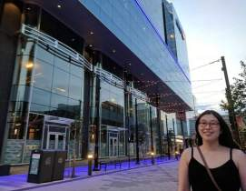 The new Halifax Convention Centre on Argyle Street.