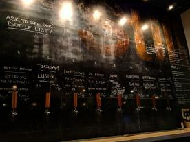 The taps at Stillwell Bar