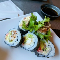 Spider Roll at Naru Sushi