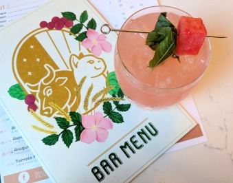 Rose + Leaf Cocktail