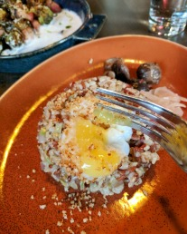 Brown Barley Fried Rice