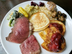 Unlimited meats, salad bar and brunch items!