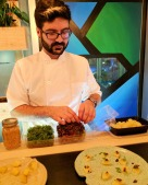 Chef Michel Nasrabadi of Butternut Tree was behind the menu in the Sanctuary.