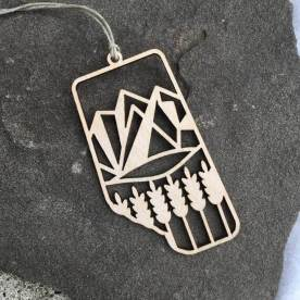 Alberta Ornament ($15); Photo courtesy of Brick Bubble.