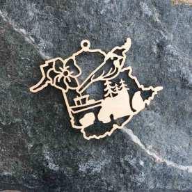 New Brunswick Ornament ($15); Photo courtesy of Brick Bubble.