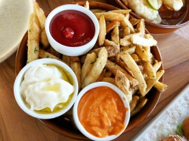 Fries with 3 dips!