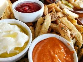 Crispy fries