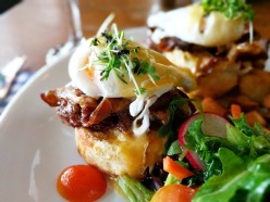 Smokehouse Beef Eggs Benedict