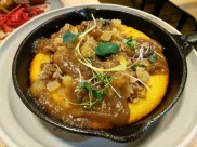 Duck and Cornbread Skillet