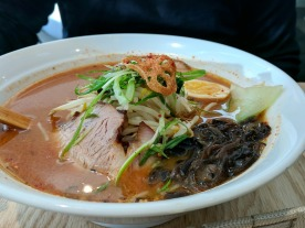 The Spicy Miso bowl was packed with tasty ingredients.