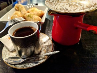 Lebanese Coffee and Baklava
