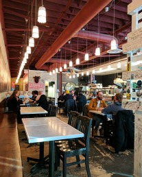 The interior of The Local Omnivore