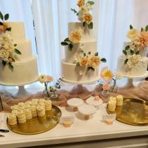 Brianne Gabrielle Cakes showcase handmade sugar flowers