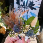 Boutonnieres from What the Flowers
