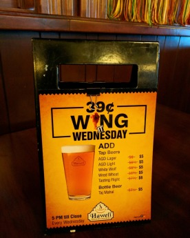Wing Wednesday deals