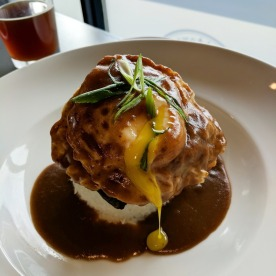 "Runny yolk of the ""Loco Moco"""