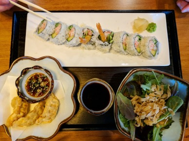 Dynamite Roll Lunch Combo