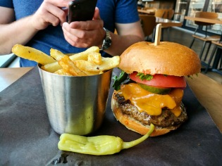 The Big Stitch with House-Cut Fries
