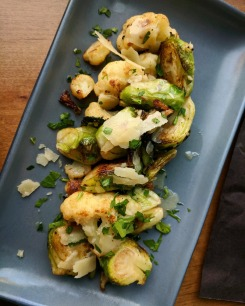 Brussels Sprouts & Cauliflower