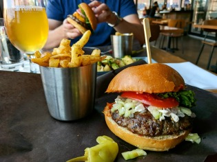 Lamb Burger with House-Cut Fries
